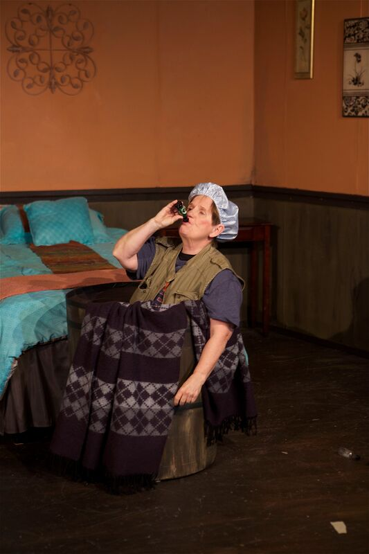 Melanie Calderwood in Wonder of the World at the Phoenix Theatre in Edmonds